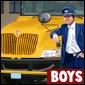 motorista de ônibus escolar Jogo - Car Games