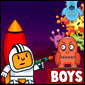 Raumfahrer Vs Monster Spiel - Puzzle Games