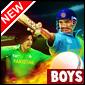 India Vs Paquistão Game - Cricket Games
