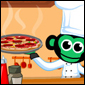 Pizza Toss met Chef Chimp'ze Game - Kids Games