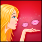 Flying Kiss Spiel - Romance Games