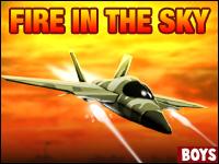 Fire In The Sky Game - F-22 Fireball находится на опасную миссию через бесплодные земли в Сирии. Уничтожить врагов и спасти ситуацию, пока еще не слишком поздно. Быть храбрым воином, настало время, чтобы разжечь огонь!