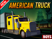 American Truck Game - Boys Games