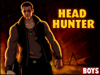Head Hunter Game - Rex is the perfect hitman. He gets you the kill and their head!