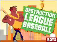 Destruction League Baseball Game - Boys Games