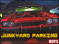Junkyard Parking Game - Gear up to trust the rust!