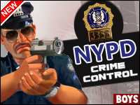 NYPD Crime Control Game - Boys Games