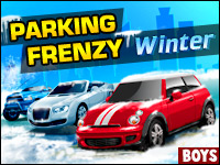 Parking Frenzy: Winter Game - Boys Games