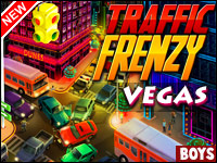 Frenesí Tráfico: Vegas Game - Car Games