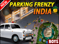 Aparcamiento Frenesí: India Game - Car Games