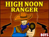 High Noon Ranger Game - Boys Games