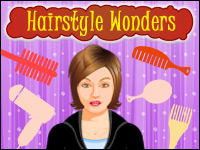 Hairstyle Wonders Game - Make-Up Games