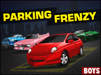 Parking Frenzy Game - Boys Games