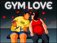 Gym Love Game - Kissing Games