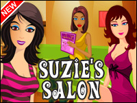 Salón De Suzie Game - Tycoon Games