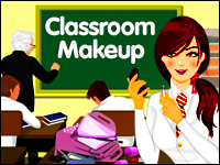 Classroom Makeup Game - Make-Up Games