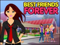 Best Friends Forever Game - Dress-Up Games