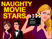Estrellas De Cine Traviesos Game - Naughty Games