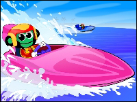 Water Racer Game - Kids Games