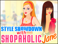 Style Showdown With Shopaholic Jane Game - Dress-Up Games