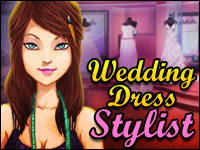 Wedding Dress Stylist Game - Dress-Up Games
