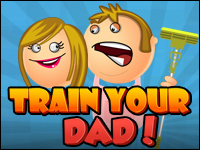 Train Your Dad Game - Funny Games