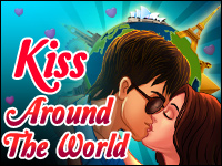 Kiss Around The World Game - Kissing Games