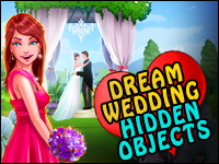 Dream Wedding Hidden Objects Game - Puzzle Games
