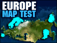 Europe Map Test Spiel - Puzzle Games