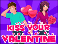 Kiss Your Valentine Game - Kissing Games