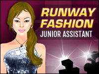 Moda Pista: Junior Assistant Game - Dress-Up Games