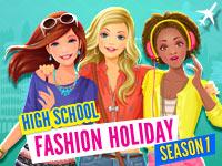 High School Fashion Holiday - Season 1 Game - Dress-Up Games