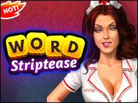 Słowo Striptiz Game - Naughty Games