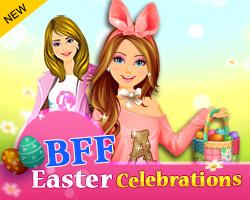 Celebrações BFF Páscoa Game - Dress-Up Games